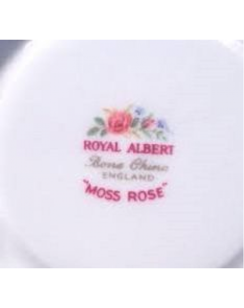 (OUT OF STOCK) ROYAL ALBERT MOSS ROSE TEA TRIO